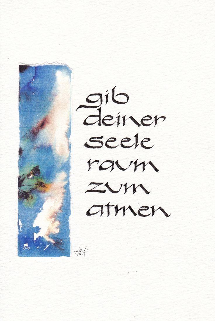 Schriftbilder - Kalligraphie und KunstKalligraphie und Kunst