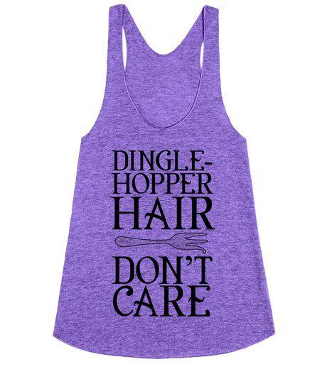 The Little Mermaid - Dinglehopper hair don't care!