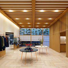メゾン キツネ、代官山に路面店オープン - 和モダンな空間、限定のスウェットやTシャツが登場の写真10