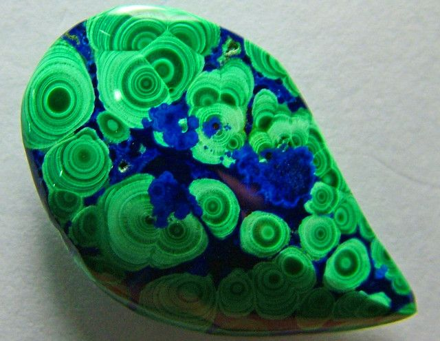 A Grade Azurite Malachite Stone NATURAL 14carats ANA631