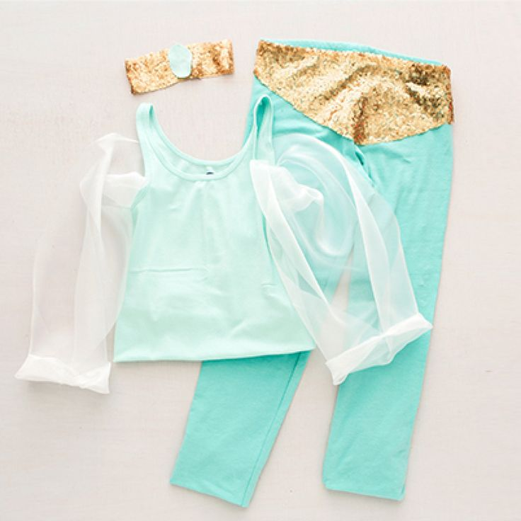 how to make princess jasmine pants
