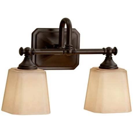 Feiss Concord 2 Light 14 Wide Bronze Wall Sconce