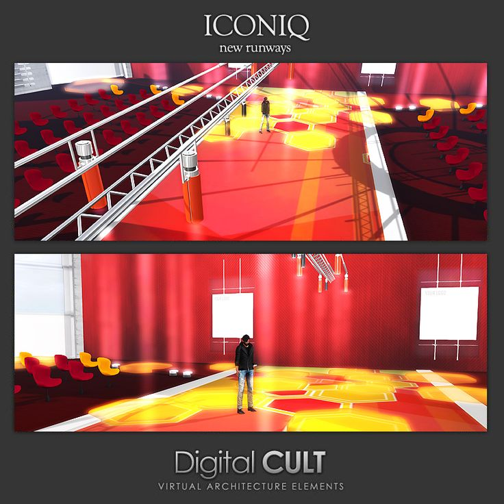 "Digital CULT: VIRTUAL Reality LAB --- here are some new CUSTOM Buildings ---------> ""three Runways for ICONIQ"" <------------  Custom Buildings: http://news.mydigitalcult.com/custom.html  Blog: http://mydigitalcult.blogspot.it/  SL SHOWROOM http://maps.secondlife.com/secondlife/New%20ITLAND/121/140/32"