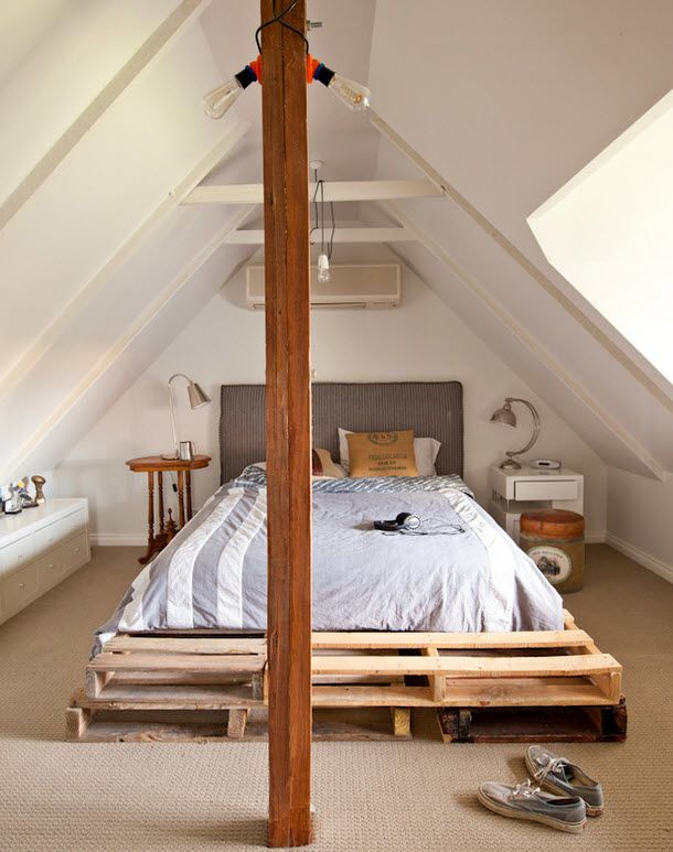 Мансарда для спальни
