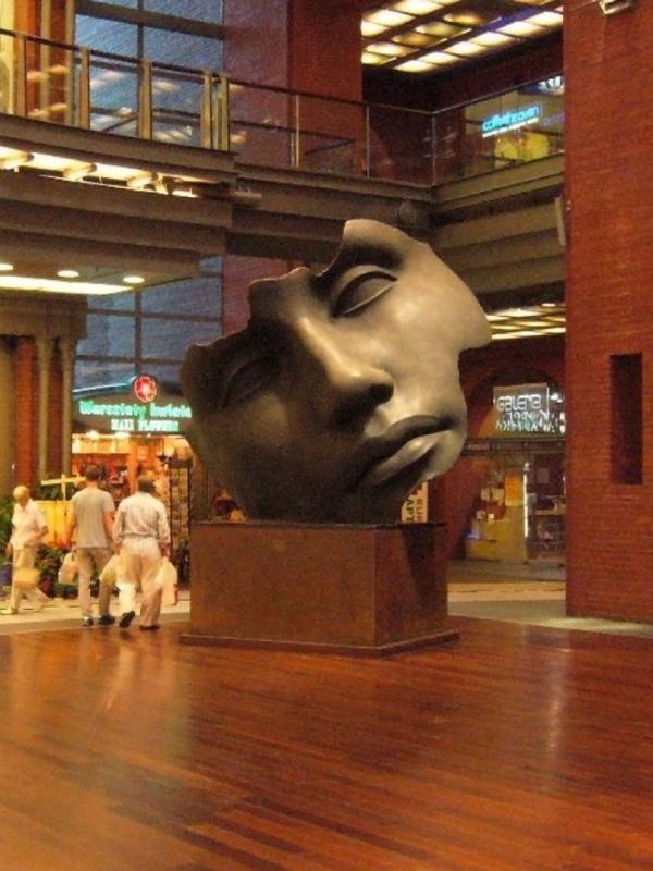 Igor Mitoraj's sculpture in Browar , Poznań , Poland