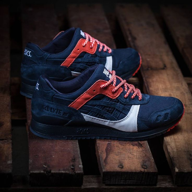 just scored these 'Hikeshi Hanten' Kicks Lab x ASICS GEL-Lyte IIIs and they  look sick! Congrats to Kicks Lab on another killer colab