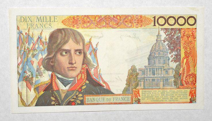 France 10000 Francs 1956 EF Napoleon | eBay