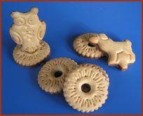 Insteek koekjes! En je had altijd twee koekjes