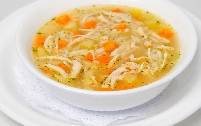 Eu particularmente adoro esse prato, principalmente quando estou com gripe, dor de garganta e no frio também INGREDIENTES 1 cebola picada 4 colheres (sopa)