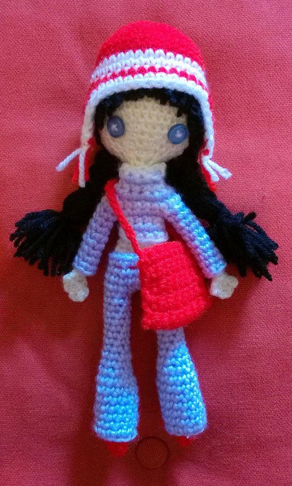 Bambolina con borsa  #Amigurumi #doll #dollwithbag #amigurumi doll #amigurumi  #crochet doll  #crochet #bag