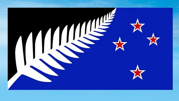The proposed new NZ flag design.