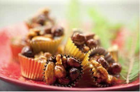 Supersmarrigt utan vitt socker! Krispiga chilinötter med honung och flingsalt