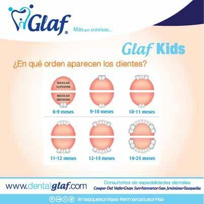 ¿Ya le están saliendo los dientes de leche a tu bebé? #dentista #df #bebé #niños #familia