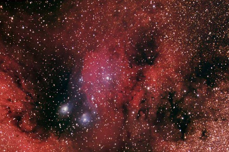 El catálogo Sharpless: Sh2-37 (Sharpless 37) es una nebulosa difusa que se encuentra en la constelación de Sagitario. Es parte de una gigantesca nube molecular en la misma zona. #astronomia #ciencia