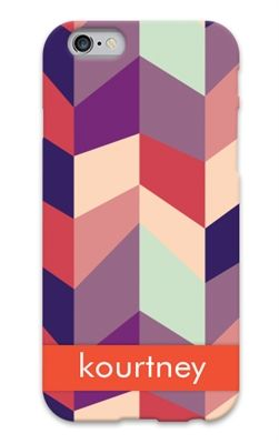 Geometric design custom cell phone case