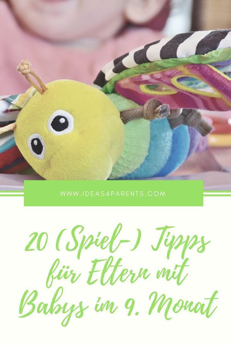 20 Spiel Tipps Fur Eltern Mit Babys Im 9 Monat Spiele Fur Baby 9 Monate Altes Baby Baby 9 Monate
