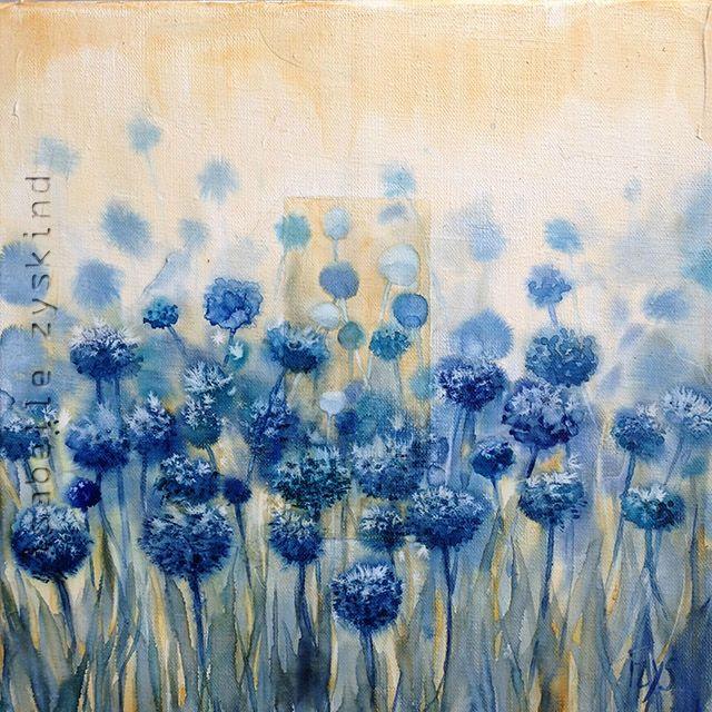 Lacher De Ballons W30x30 0915 Peinture Croquis Aquarelle Fleurs