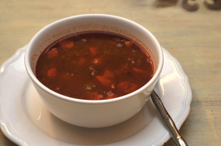 German Goulash Soup - Original German cooking Original and Authentic German Recipes