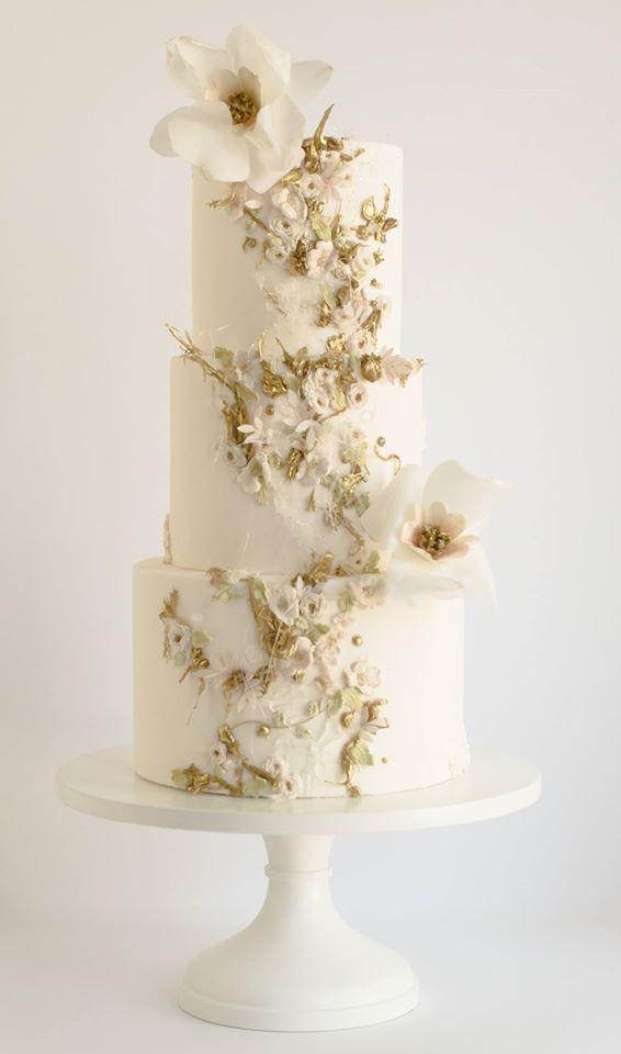 Kuchen: Maggie Austin; Um mehr schicke Hochzeitstorte Ideen zu sehen: www.modwedding.co … # …   – Wedding Cakes