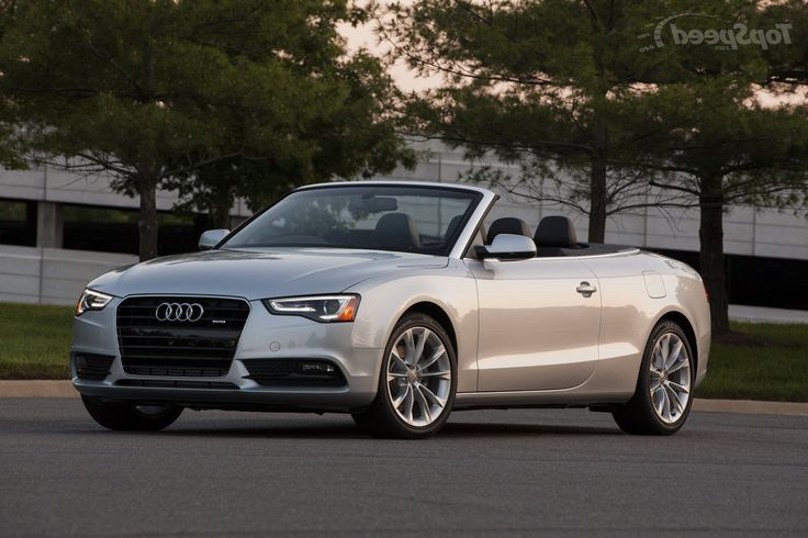 Remarkable Audi A5 Convertible Photos Gallery