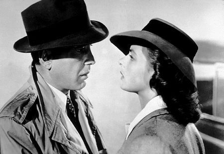 """Casablanca"" Humphrey Bogart and Ingrid Bergman 1942 Warner Bros."