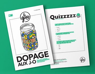 """Check out new work on my @Behance portfolio: """"LEGOSS#1 - Dopage aux Jeux Olympiques"""" http://be.net/gallery/45395381/LEGOSS1-Dopage-aux-Jeux-Olympiques"""