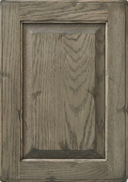 Signature series Finish stain: Distressed Barnwood on Oak