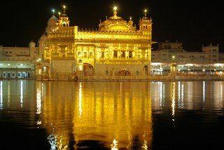 Золотой Храм Хармандир Сахиб.