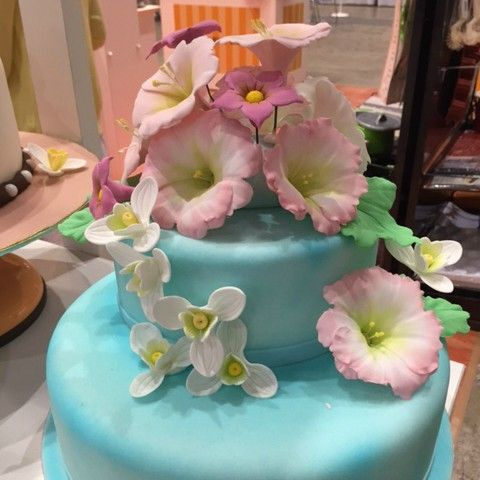 Pastry & Bakery Japan 2016: these pictures are not recommended for gourmandizers :)   www.cake-decoration.jp San Neng Bakeware Indonesia #JapaneseCakeDecorationAssociation