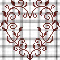 Filomena Crochet e Outros Lavores: - Coração de São Valentino