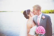 Tampa Wedding at The Rusty Pelican Restaurant from Paige Lowe Photography | Style Me Pretty