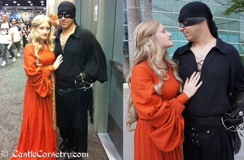 Westley and Buttercup- Princess Bride Halloween Couple Costume  When I have a boyfriend we are totally doing this. I will force him. >:D