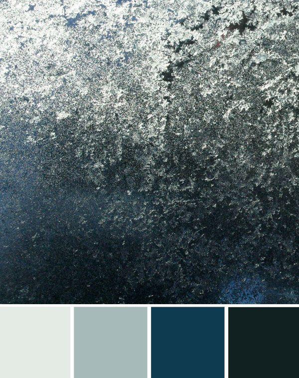 Metallic colours. Texture.
