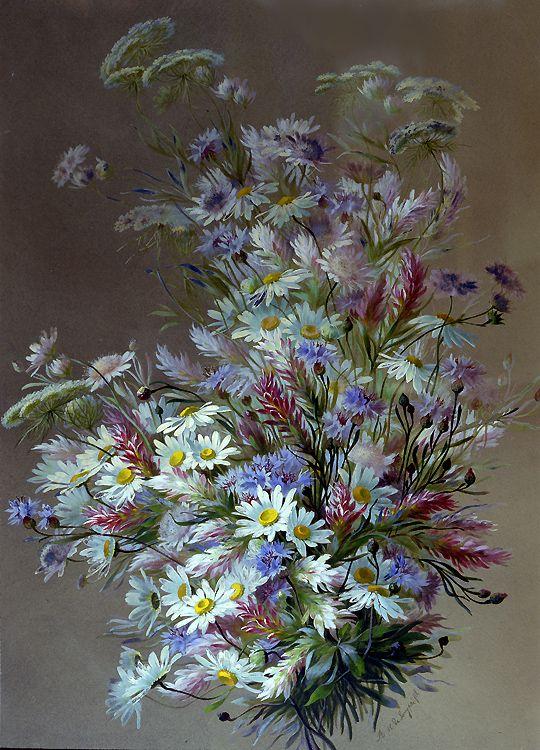 Bouquet of Wildflowers Raoul de Longpre