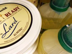 Use this simple lard substitute to bring heirloom recipes into the next century.