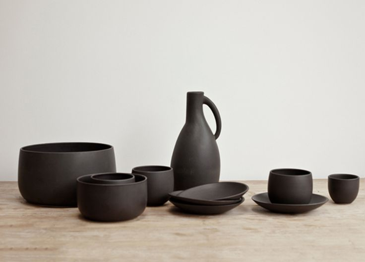 Black Ceramic Jug | Spence & Lyda @estemag and #estliving #estdesigndirectory