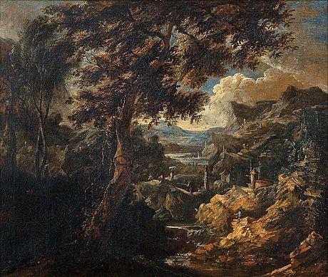 Marco Ricci Italien 1676-1730 Hans krets