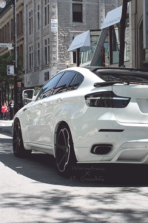 BMW X6M photographed by Mr. Goodlife - Edit by Wormatronic