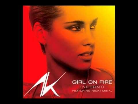 Alicia Keys-Girl On Fire (Inferno Version) (Audio)