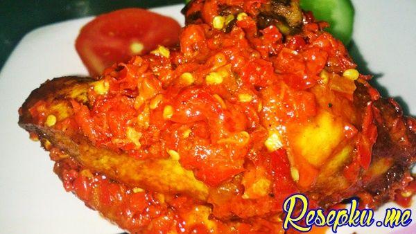 Resep Ayam Balado Sambal Merah Pedas Resep Ayam Masakan Resep Masakan