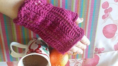 Mittens Kiki, by Marieta Iosifidou - Kiki γάντια χωρίς δάχτυλα με βελόνες, της Μαριέτας Ιωσηφίδου | Marieta's Yarnland
