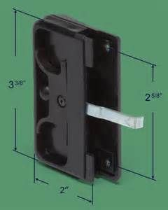 Search Replace sliding screen door latch. Views 644.