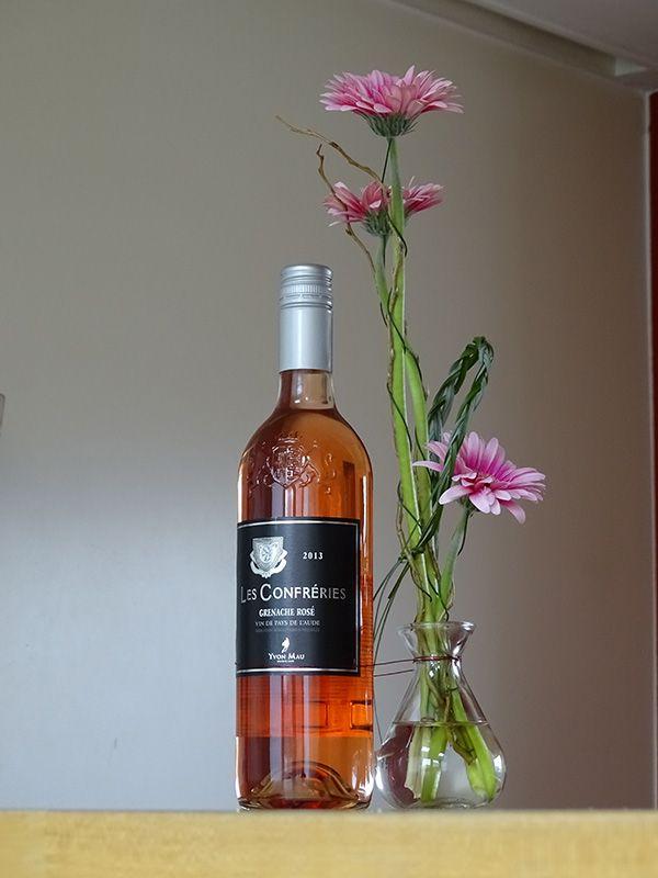 Een rosé om vrolijk van te worden. Verkrijgbaar bij Mitra Grou.