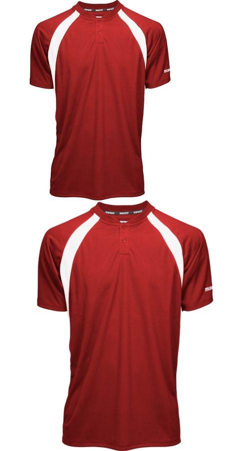 ce7abe2ba73d Baseball Shirts and Jerseys 181336: Marucci Adult Two-Button Performance  Baseball Jersey -> BUY IT NOW ONLY: $26.9 on #eBay #baseball #shirts  #jerseys ...