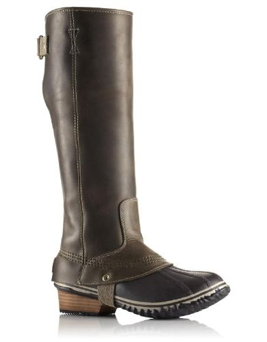 Sorel Slimpack Riding Tall Boots - Womens and other Sorel Womens Winter Boots & Shoes at Jans.com