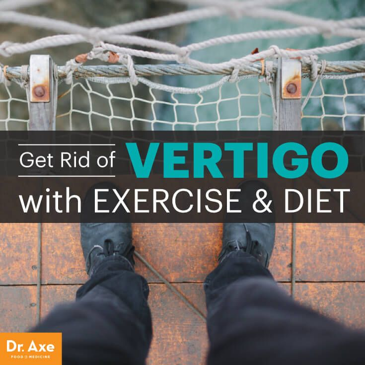 How to get rid of vertigo - Dr. Axe http://www.draxe.com #health #holistic #natural
