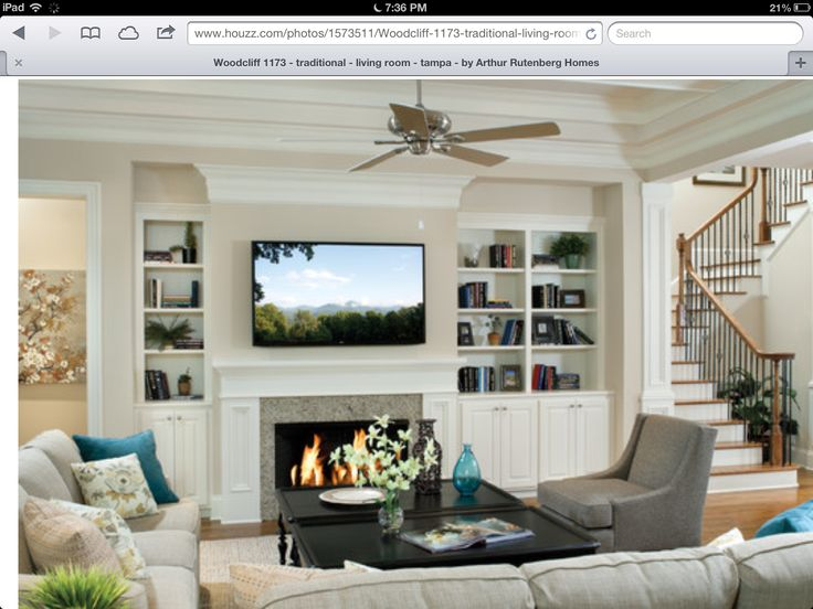 Image Result For Uneven Built Ins Asymmetrical Home Style In 2019 Pinterest Living Room