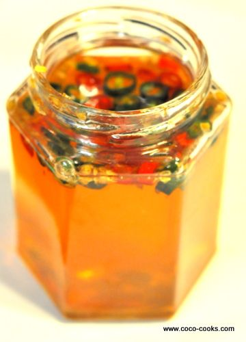 Oh yum!   Chili Infused Honey Otherwise Known as Kiss Me Spank Me Honey