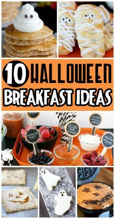 Such cute ideas! I especially love the spooky smoothie bar!!