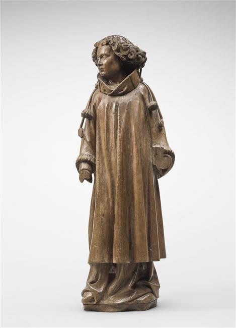 Diacre du Louvre, du retable de Theuley